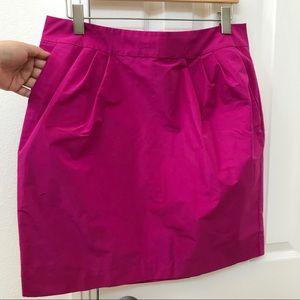 Banana Republic vibrant pink skirt